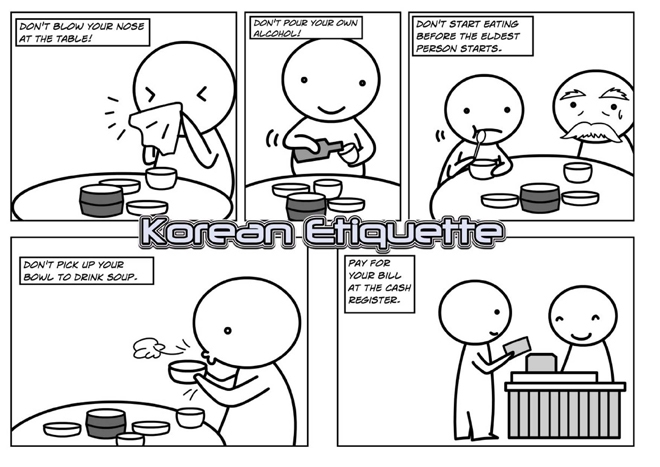 korejski maniri